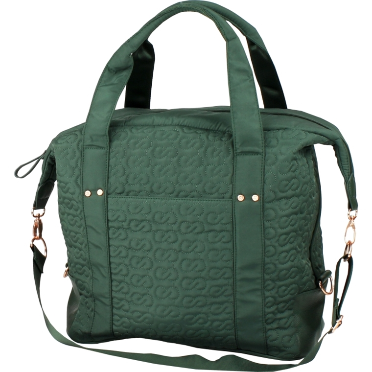 Win this fashionable Forest Green Bag