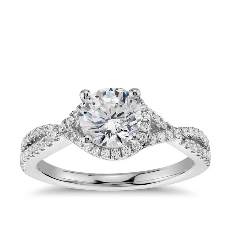 Win a Blue Nile Engagement Ring and Wedding Bands