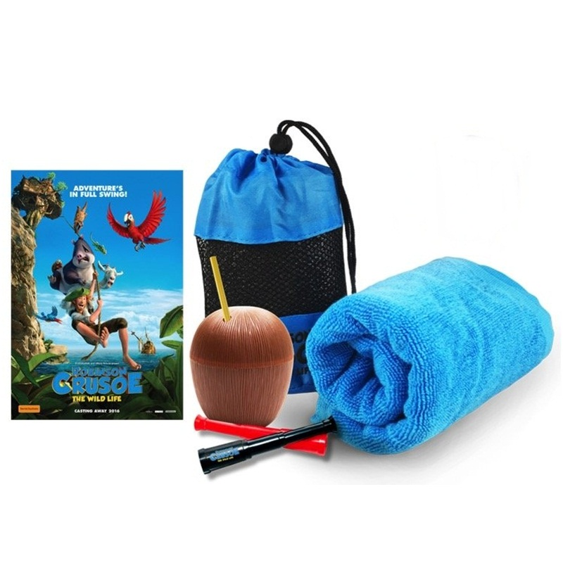 Win a Robinson Crusoe: The Wild Life prize pack