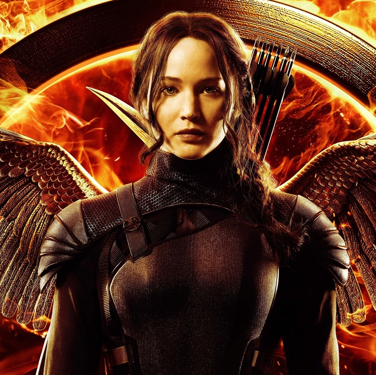 Win The Hunger Games Complete 4-Film Collection