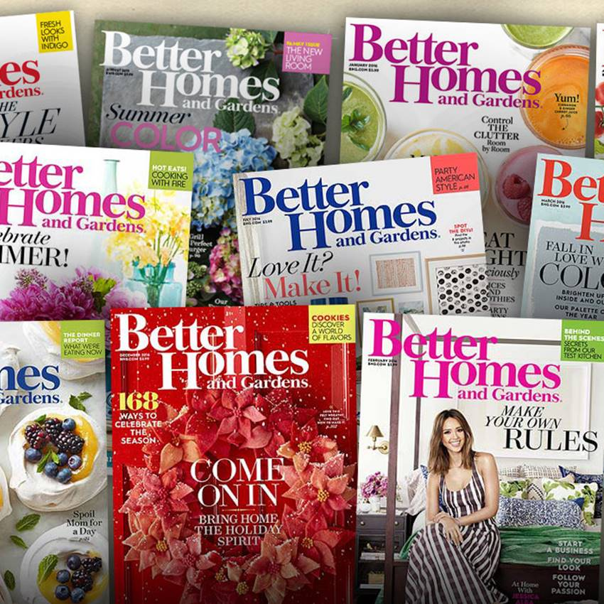 Win 1 Of 10 Better Homes Gardens Magazine Subscriptions