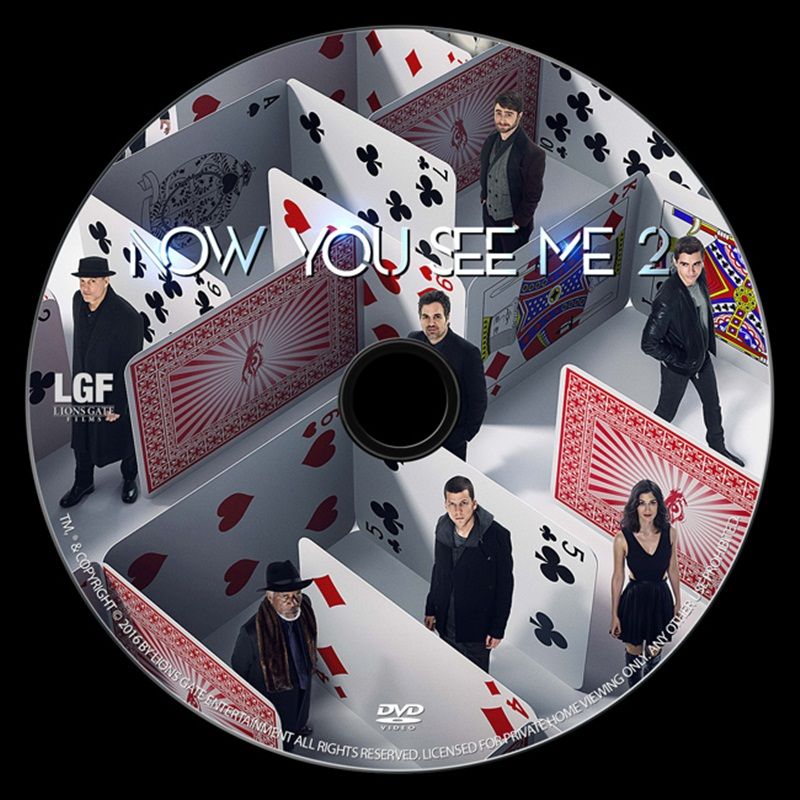 Win a Now You See Me 2 DVDs