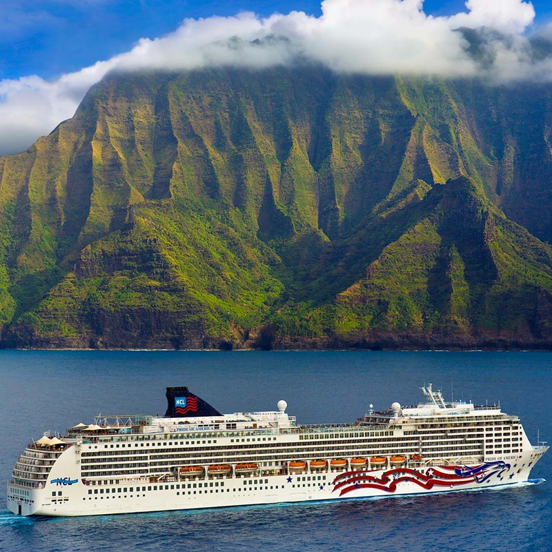 Win a 14-night Hawaii Cruise departing from Long Beach and other package