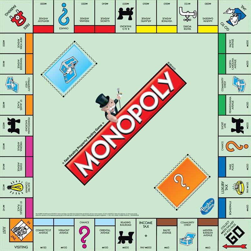 Win a Monopoly Board