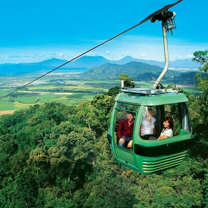 Win a Skyrail Rainforest Cableway Passes