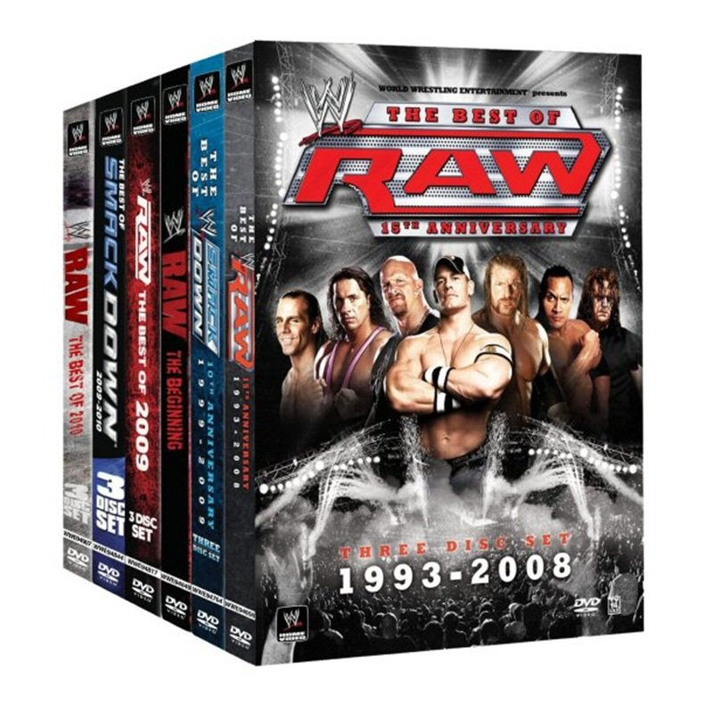 Win a WWE DVD packs