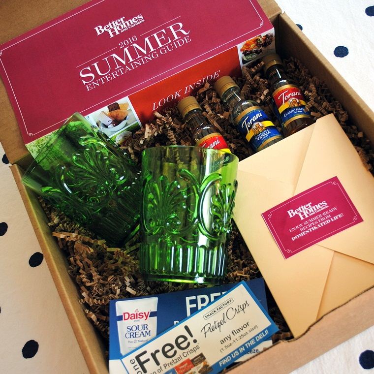 Win Summer Entertaining Guide Party Box