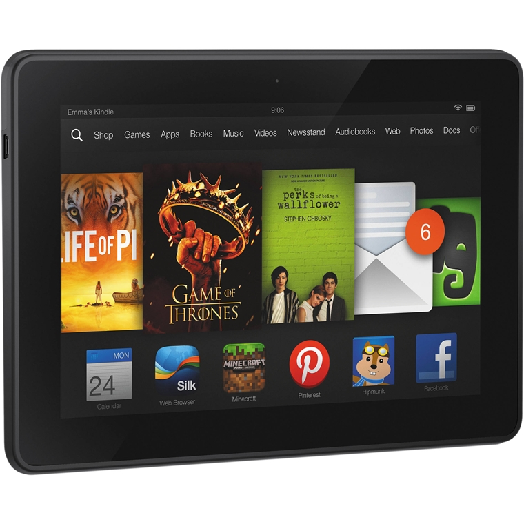 Win a Kindle Fire HDX 7 tablet