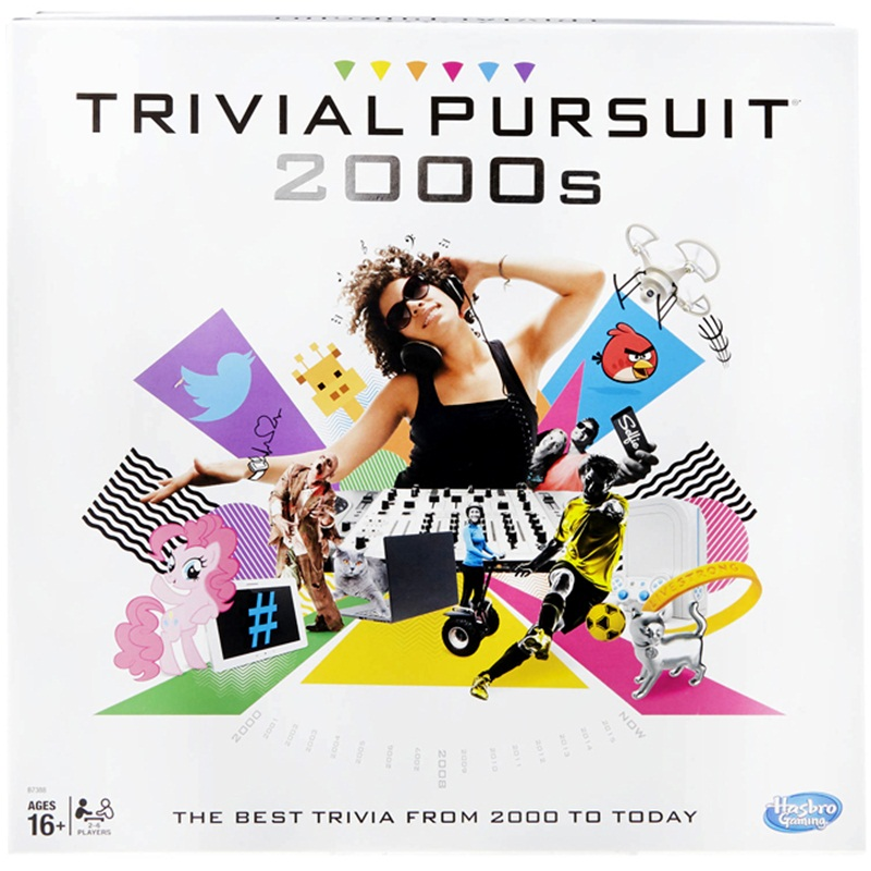 Win a Trivial Pursuit 2000s Edition
