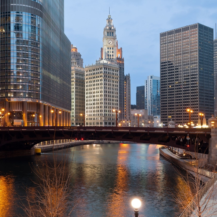 Win a Trip to Chicago, Illinois.