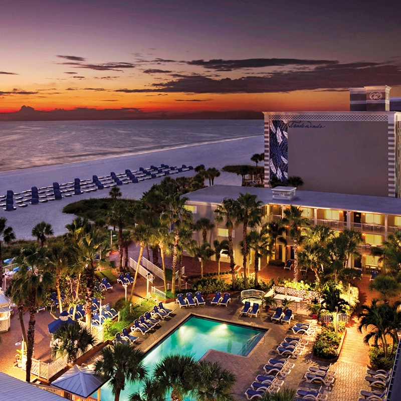 Win a vacation to TradeWinds Resort in St. Pete Beach, Florida.