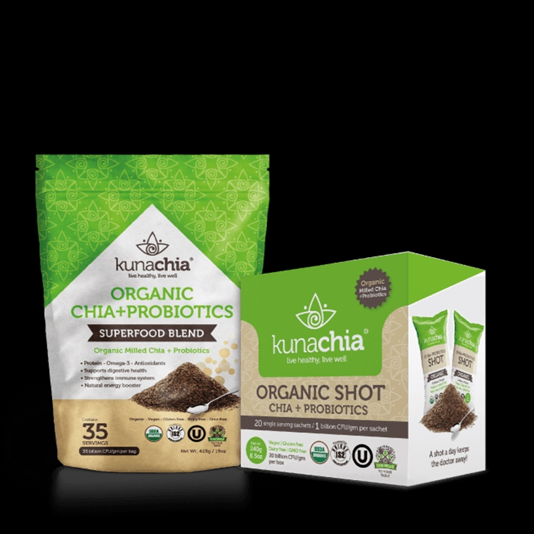 Win a bag of Kunachia Organic Chia+Probiotics
