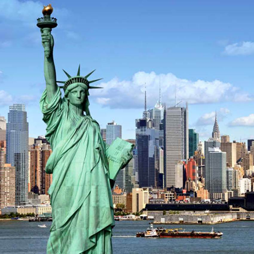 Win A Trip For 2 To America