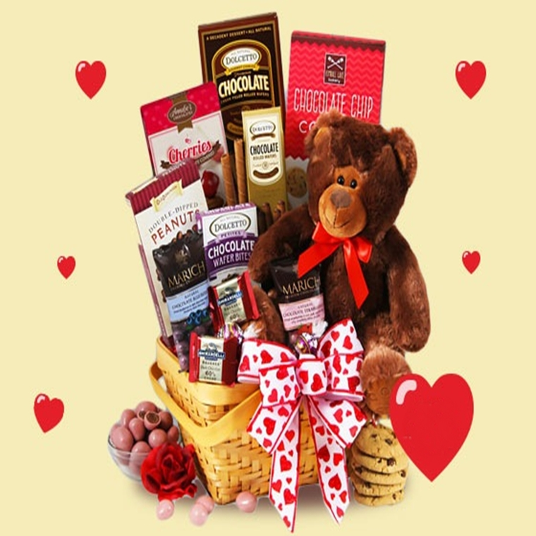 Win a Valentine's Day Gift Basket
