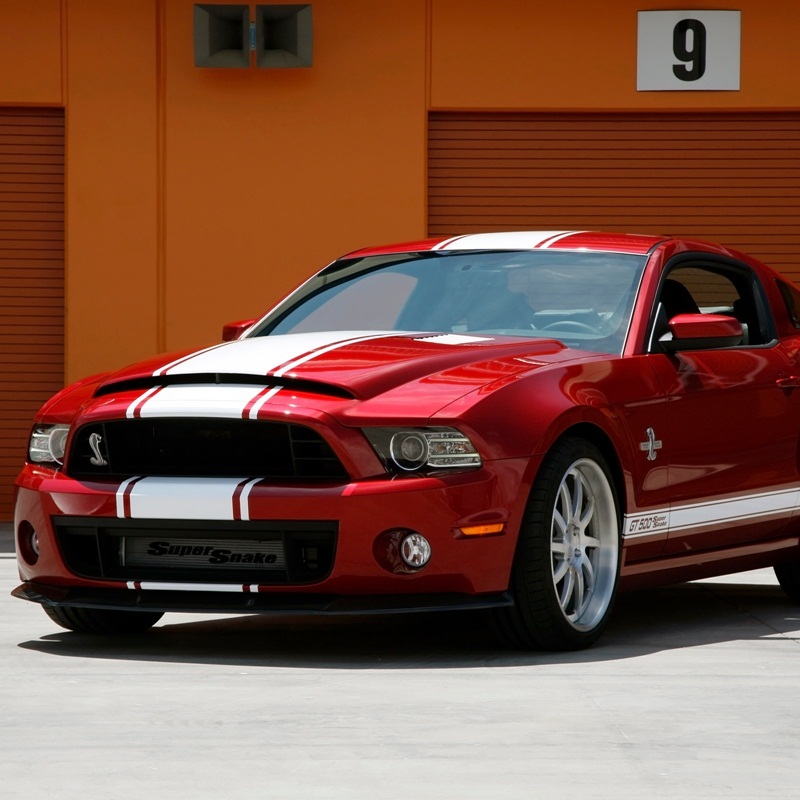 Win a Ford Mustang - Shelby Super Snake or HSV GTS V8