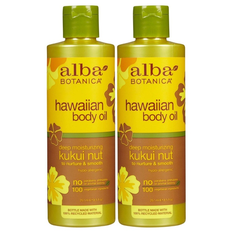 Win a Alba Botanica Hawaiian Deep Moisturizing Kukui Nut Oil