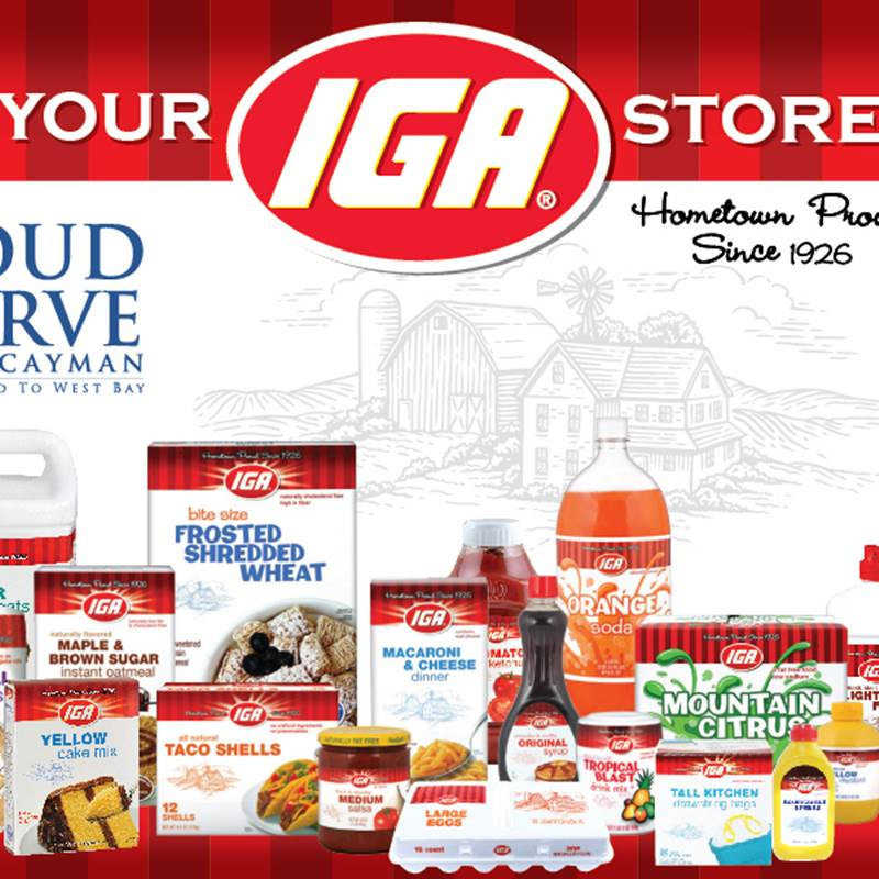 Win a IGA Brand Product & Grocery Certificates