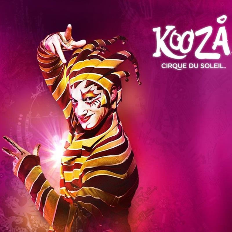 Win a DOUBLE PASS TO CIRQUE DU SOLEIL KOOZA