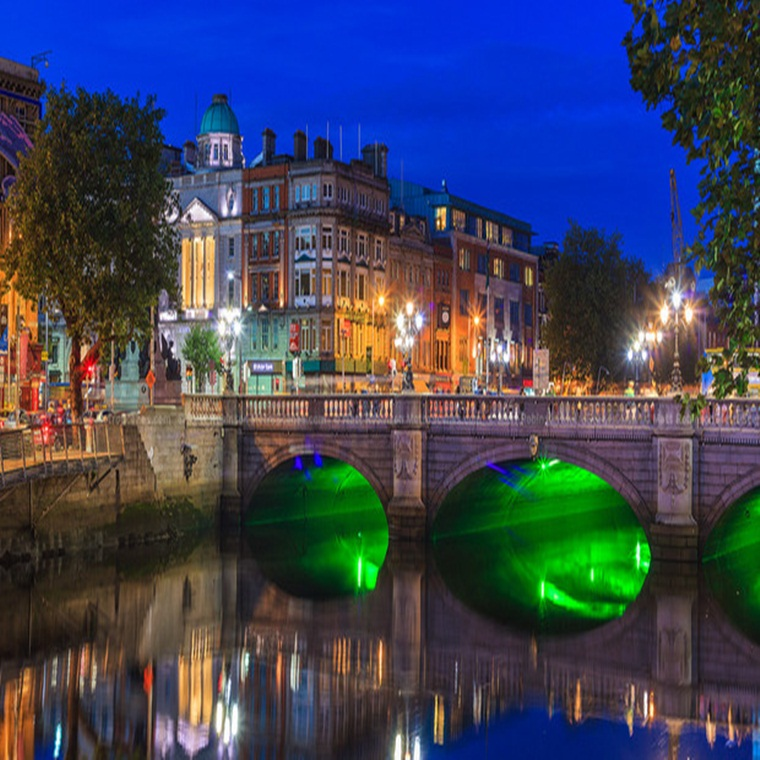 Win a trip for 2 people to Dublin, Ireland