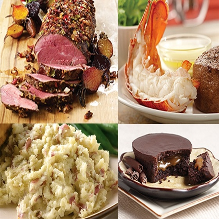 "Win a  ""The Romantic Dinner In"" Prize Package from Omaha Steaks"