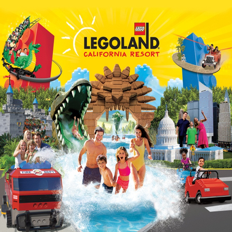 Win a stay at LEGOLAND® Hotel at LEGOLAND California Resort!