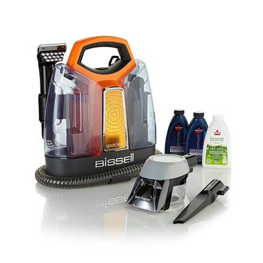 Win A BISSELL BarkBath Tool, SpotClean And No-Rinse Dog Shampoo