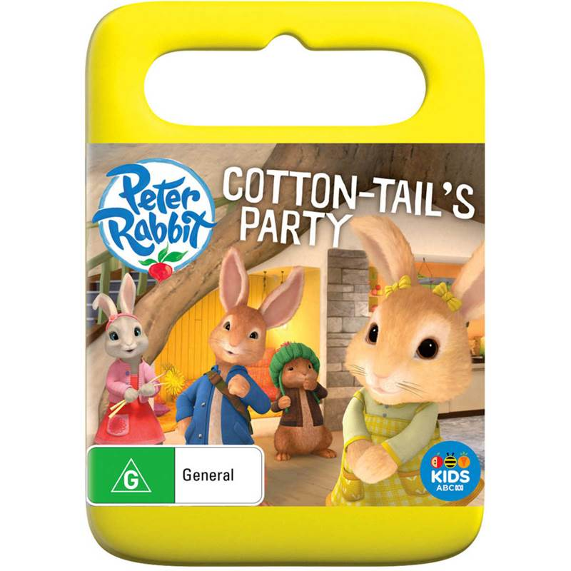 Win a Peter Rabbit: Cotton-tail's Party DVD
