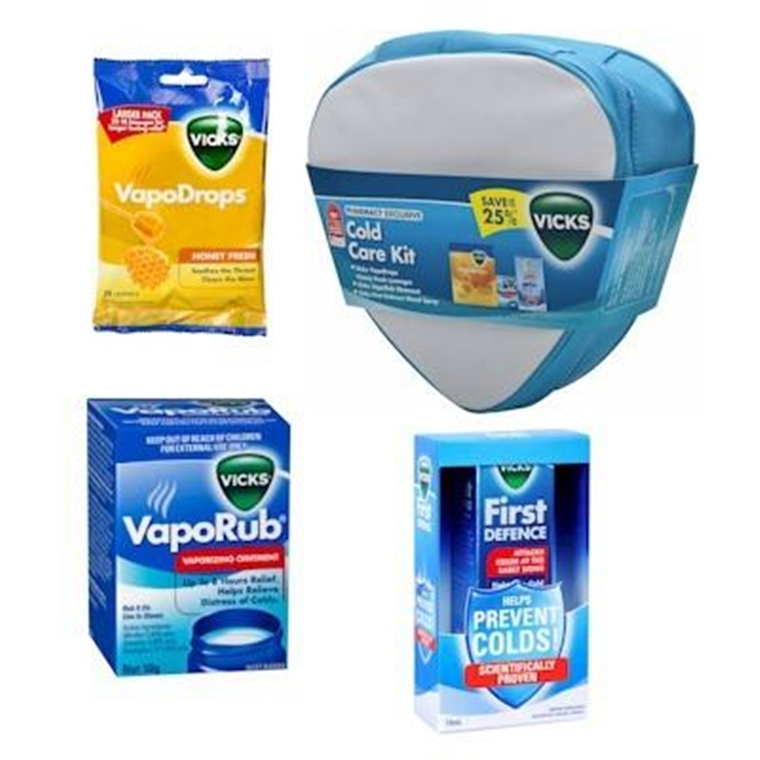 Win a Vicks Winter Care Package