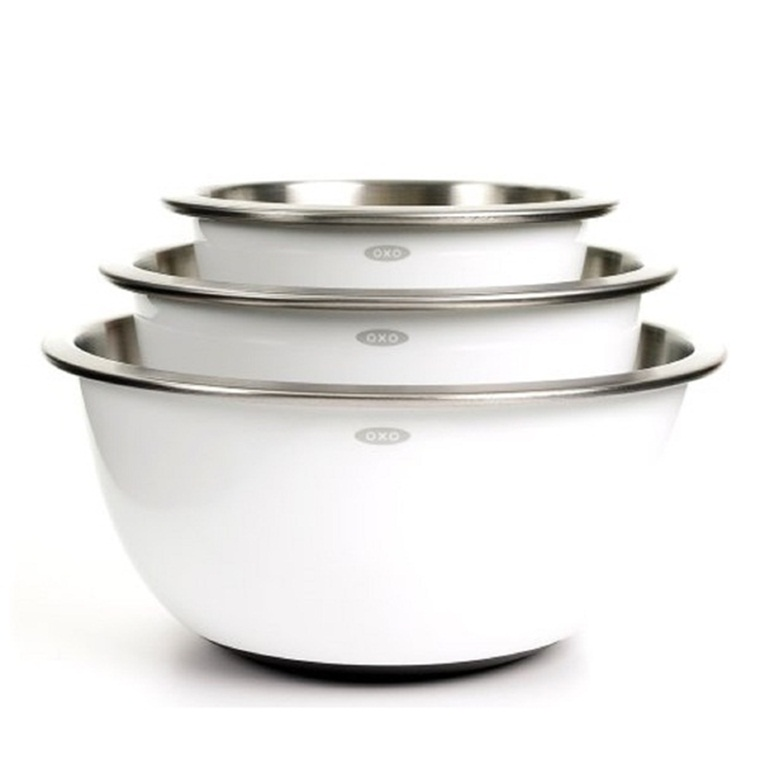 Win a Set of OXO Good Grips Stainless Steel Mixing Bowls