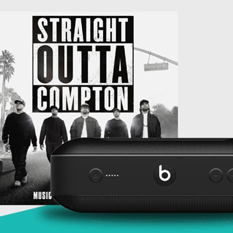 "Win ""Straight Outta Compton"" & Beats Pill+ Speakers"