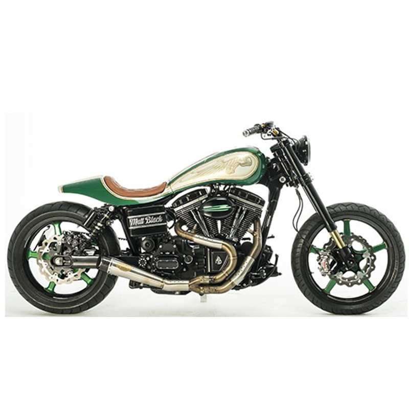 Win a custom-painted Harley-Davidson Street Bob motorcycle and voucher