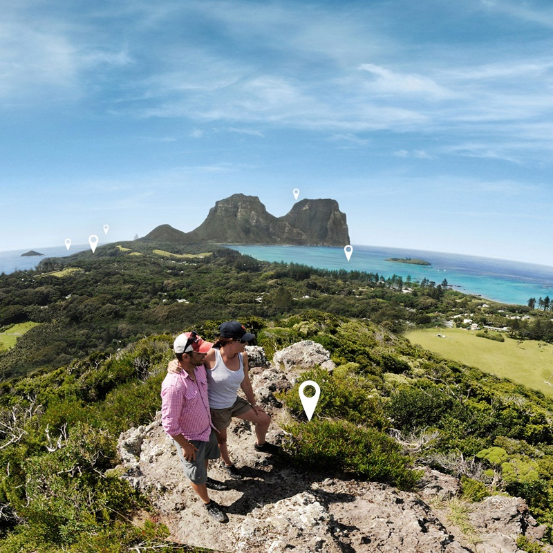 Win a trip PINETREES LORD HOWE ISLAND