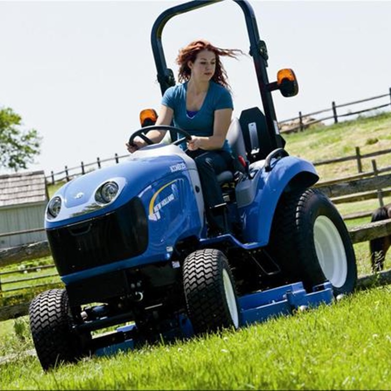 Win a New Holland Boomer 25 Compact Tractor