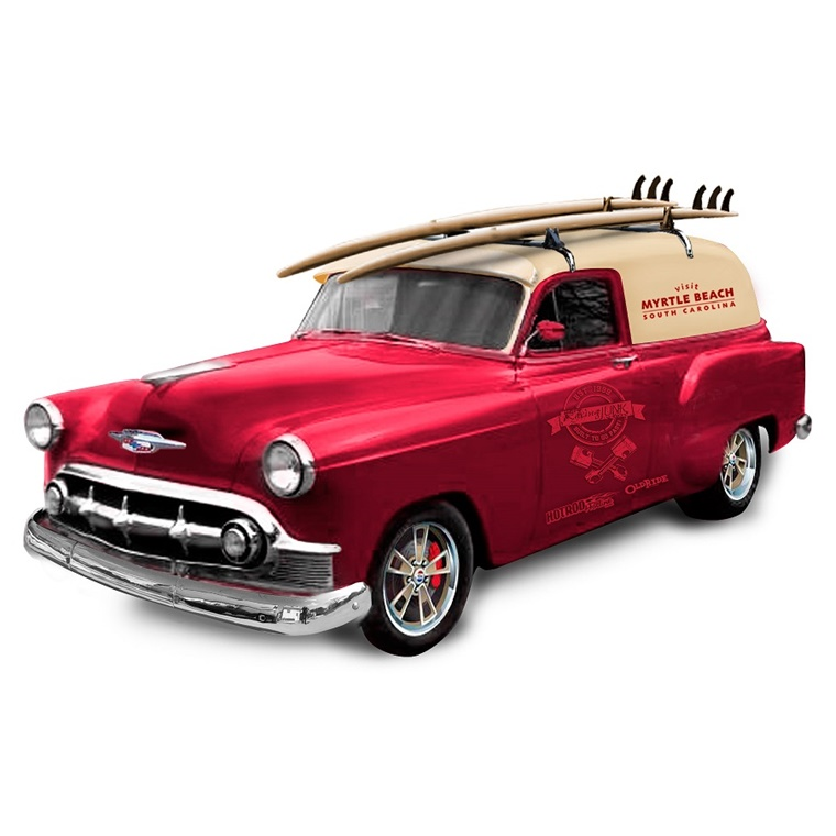 Win a Fully Customized 1953 Chevrolet Sedan