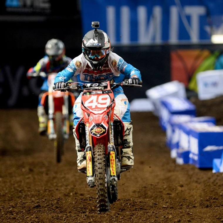 Win a VIP Supercross Finals Trip for four people to Las Vegas