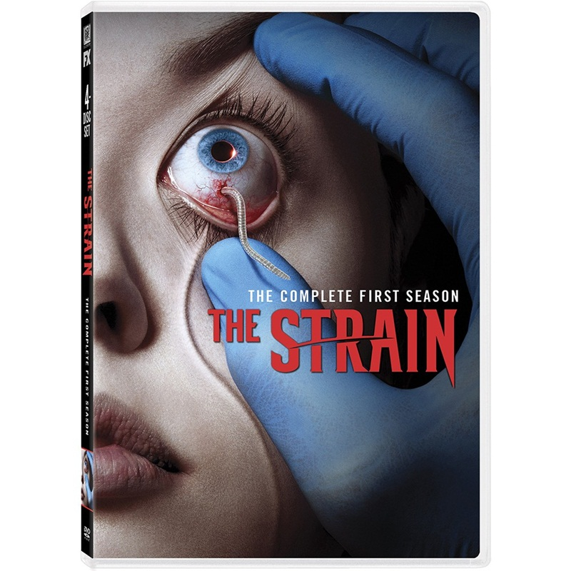 Win a SEASON 1 OF THE STRAIN ON DVD OR BLU-RAY