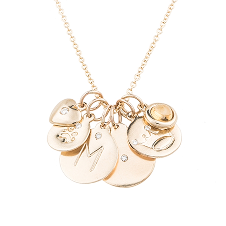 "Win the Helen Ficalora Gold ""LOVE"" Necklace"