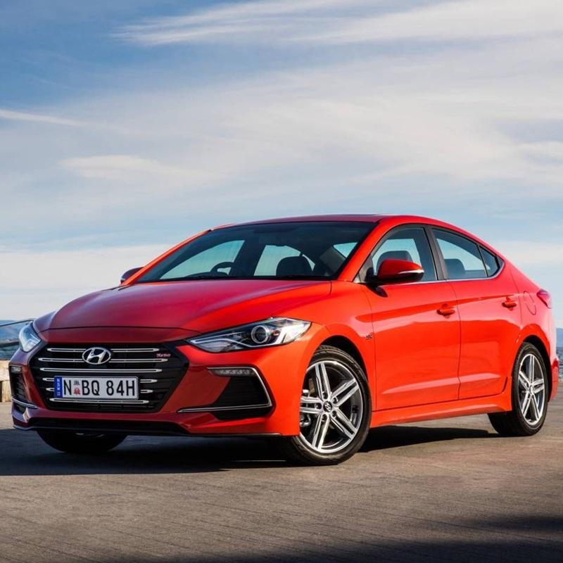 Win a Hyundai Elantra SR Car