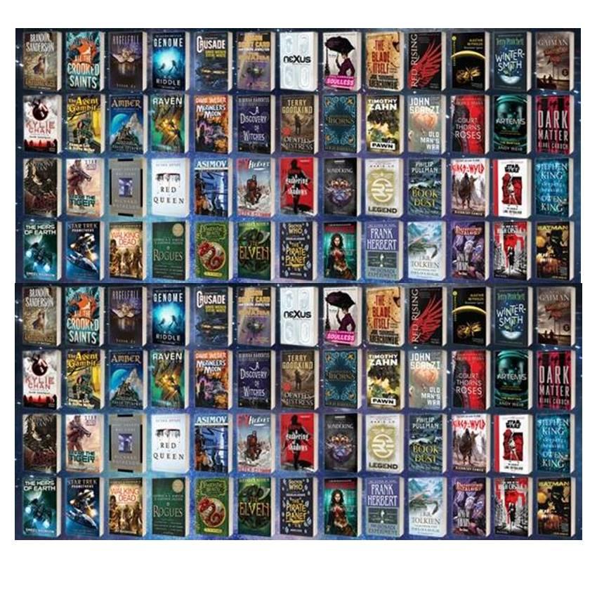 Win 52 Sci-Fi & Fantasy paperbacks