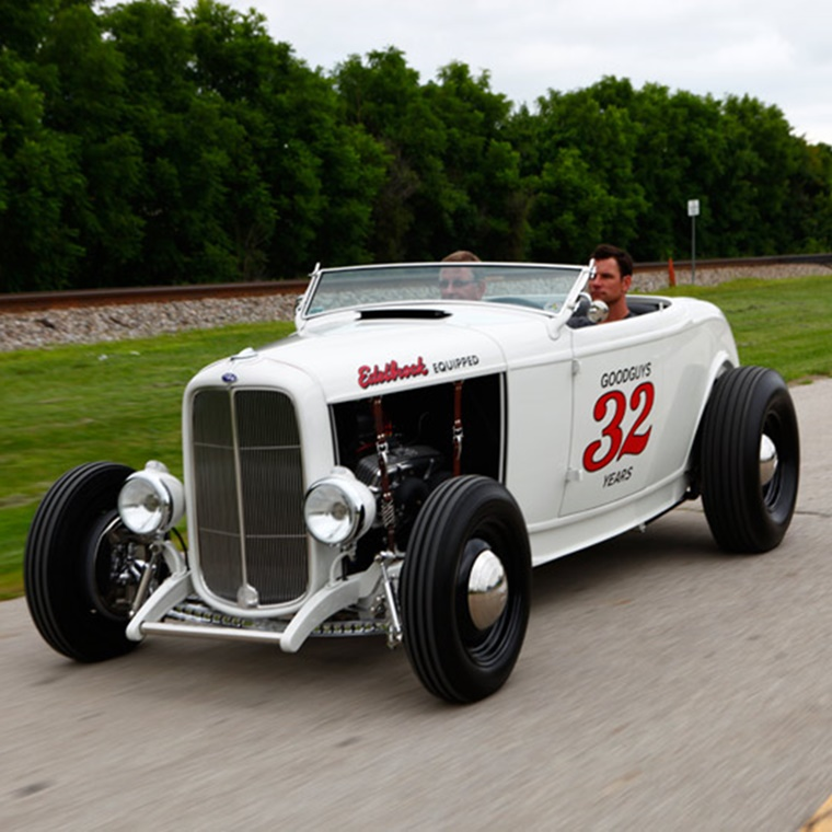 Win a 1932 Ford Hi-Boy Roadster Hot Rod