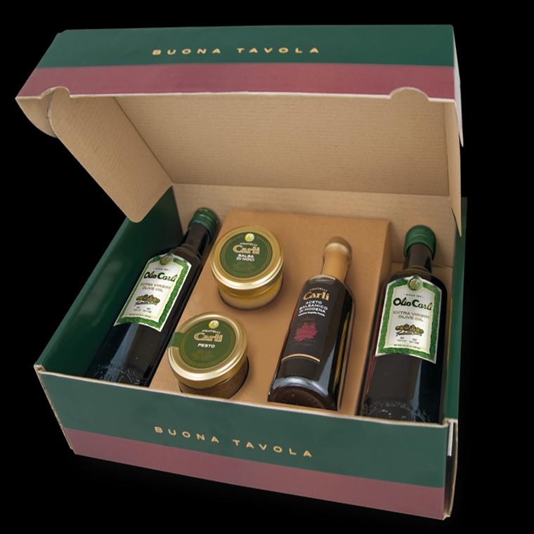 """Win a Olio Carli Olive Oil """"Buona Tavola"""" Gift Box"""