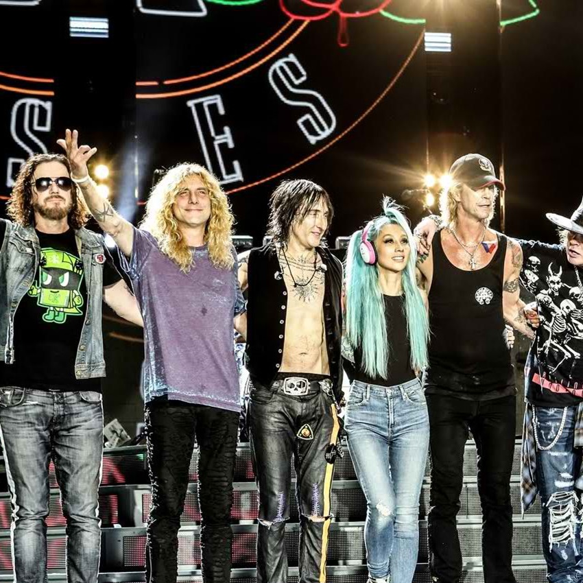 Win A Tickets To See Guns N' Roses Perform In Concert