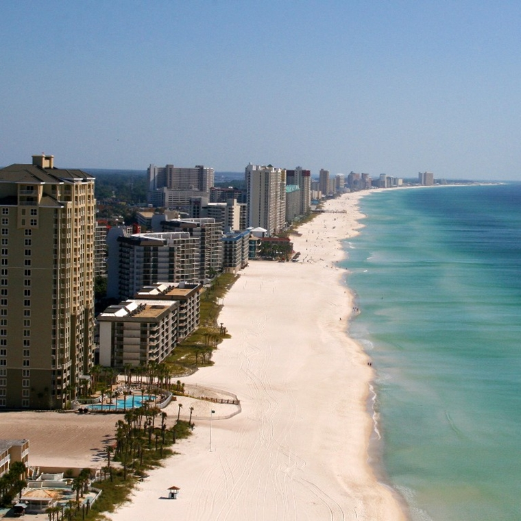 Win a Flyaway Trip for two people to Panama City Beach, Florida
