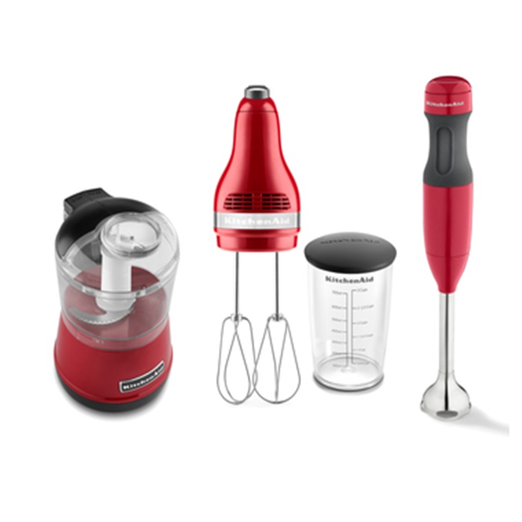 Win A Professional KitchenAid Hand Mixer And Food Processor