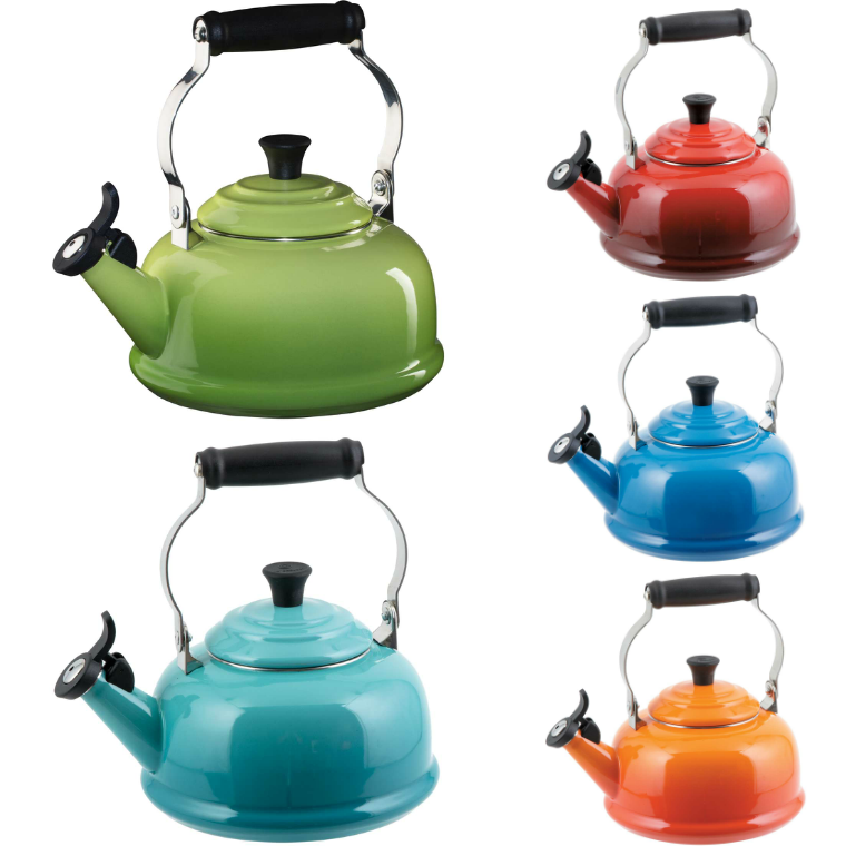 Win a Le Creuset Whistling Teakettle