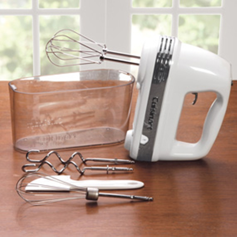 Win a Cuisinart Advantage Plus 9-Speed Hand Mixer.