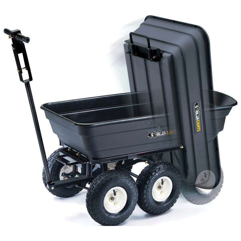 Win a Poly Dump Cart, Trimmer Force trimmer lines, and Toy Walk Mower