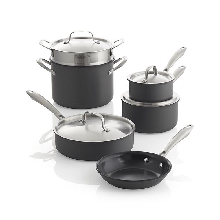 Win a Cuisinart Green Gourmet 10-Piece Cookware Set