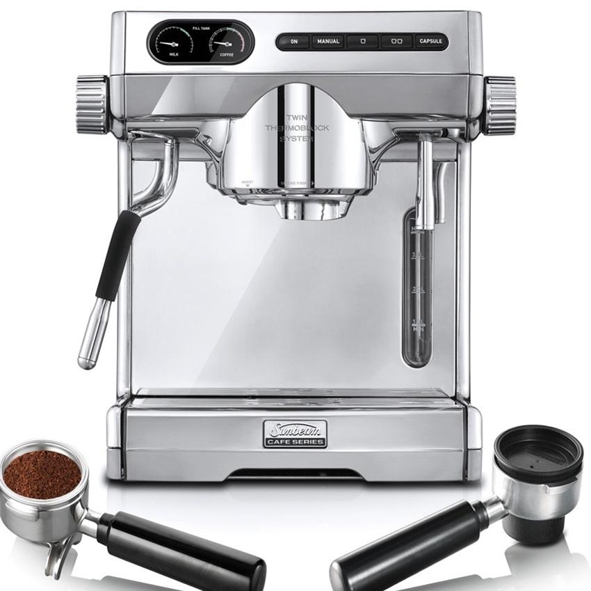 Win A Sunbeam Café Series Espresso Machine With Multi-Capsule™ Handle