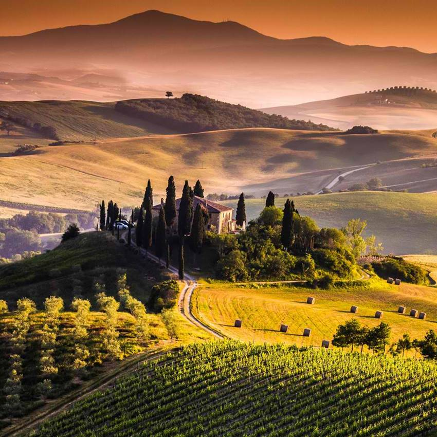 Win a Trip to Tuscany